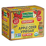 White House Organic On The Go Raw Apple Cider Vinegar