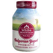 White Mountain Bulgarian Whole Milk Probiotic Yogurt
