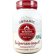 White Mountain Organic Plain Premium Yogurt
