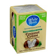 White Rain Bar Soap Coconut Creme