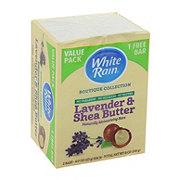 White Rain Bar Soap Lavender & Shea Butter