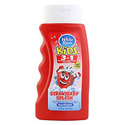 White Rain Kids 3-in-1 Strawberry Splash