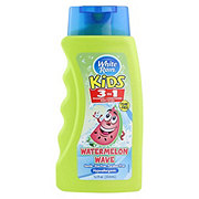 White Rain Kids 3-in-1 Zany Watermelon Shampoo+Condtioner+Body Wash