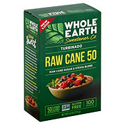 Whole Earth Turbinado Raw Cane Sugar Stevia Blend Packets