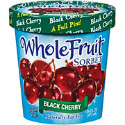 Whole Fruit Black Cherry Sorbet