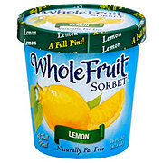 Whole Fruit Lemon Sorbet