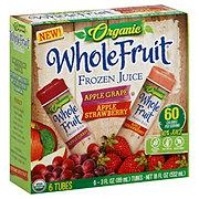 Whole Fruit Organic Juice Tubes