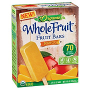 Whole Fruit Organic Mango Fruit Bars