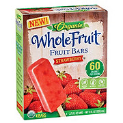 Whole Fruit Organic Strawberry Fruit Bars