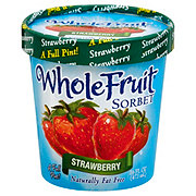 Whole Fruit Strawberry Sorbet