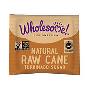 Wholesome Natural Raw Cane Turbinado Sugar Packets