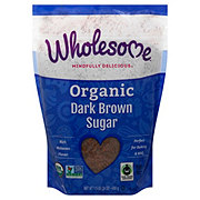Wholesome Organic Dark Brown Sugar