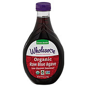 Wholesome Organic Raw Amber Blue Agave
