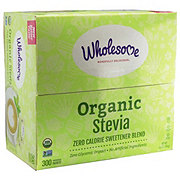 Wholesome Organic Stevia Packets