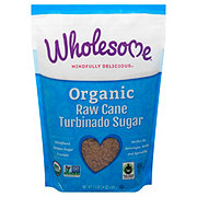 Wholesome Organic Turbinado Raw Cane Sugar