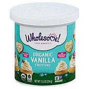 Wholesome Organic Vanilla Frosting