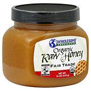 Wholesome Sweeteners Raw Organic Honey