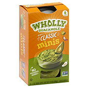 Wholly Guacamole Classic 100 Calorie Mini Snack Packs