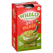 Wholly Guacamole Spicy 100 Calorie Mini Snack Packs
