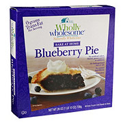 Wholly Wholesome Bake At Home Blueberry Pie