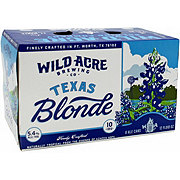 Wild Acre Texas Blonde Beer 12 oz  Cans