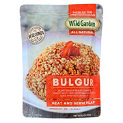 Wild Garden Bulgur Pilaf