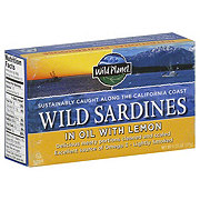 Wild Planet Wild Sardines In Evoo With Lemon