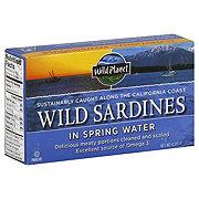Wild Planet Wild Sardines Spring Water