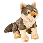 Wild Republic Cuddlekin Plush Beanbag Wolf Baby