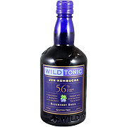 Wild Tonic Blueberry Basil Kombucha