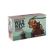 Wild West Cinnamon Graham Cookies in Western Shapes
