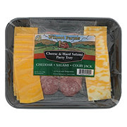 Wilmot Farms Cheese ad Hard Salami Party Tray
