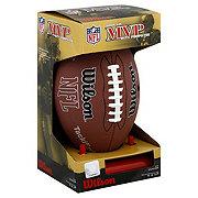 Wilson NFL MVP Junior Size Pump and Tee Football