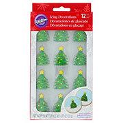 Wilton Christmas Tree Icing Decorations