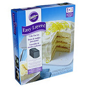 Wilton Easy Layers! Square Cake Pan Set