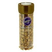 Wilton Gold Stars Sprinkles