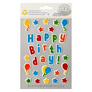 Wilton Happy Birthday Icing Decorations