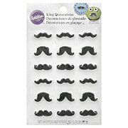 Wilton Icing Decorations Mustache Shapes