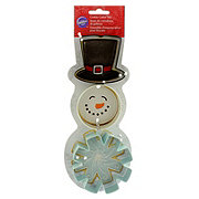 Wilton Metal Snowman Cookie Cutter Set