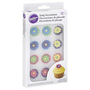 Wilton Multicolor Royal Icing Flower Decorations