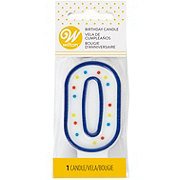 Wilton Numeral 0 Party Candle
