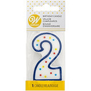 Wilton Numeral 2 Party Candle