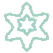 Wilton Plastic Snowflake Cookie Cutter Set