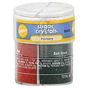 Wilton Primary Colors Sugar Crystal Sprinkles