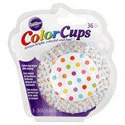 Wilton Rainbow Dots Color Cups