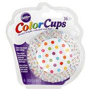 Wilton Rainbow Dots Color Cups