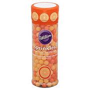 Wilton Sprinkles Orange Sherbet Decorating Candy