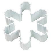 Wilton White Metal Snowflake Cookie Cutter