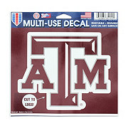 WinCraft Texas A&M 5x6 in Multi-Use Decal