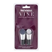 Wine Enthusiast Vine Stopper & Pourer Set